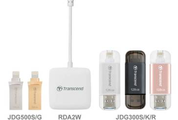 Transcend RDA2W & JetDrive For iOS Devices Launched