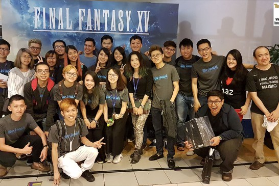 The Final Fantasy XV Midnight Launch Event