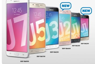 Samsung Adds New 2016 Galaxy J Series Smartphones