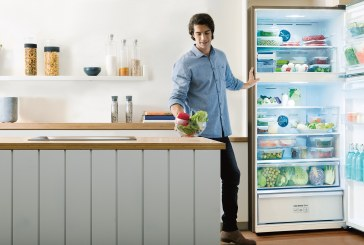Samsung RT7000 Refrigerator Reduces Food Waste