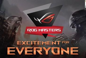 The ROG Masters 2016 Tournament Rocks KL