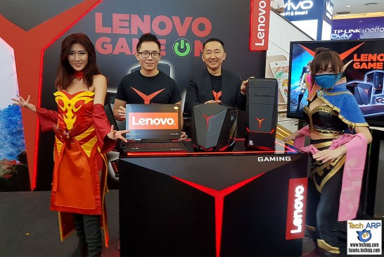 Lenovo Game On - New eSports & Gaming System Updates!