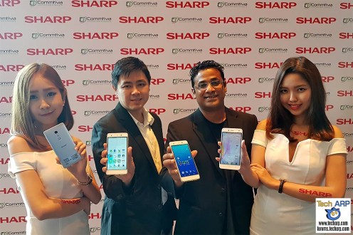 Sharp Z2 & Sharp M1 Smartphones Revealed