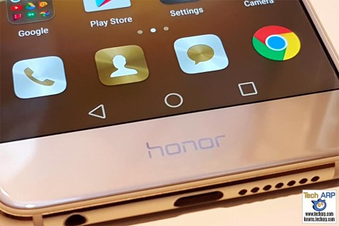 The honor 8 buttons