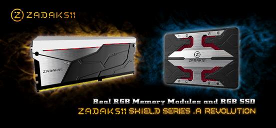 ZADAK511 Shield RGB Series Announced