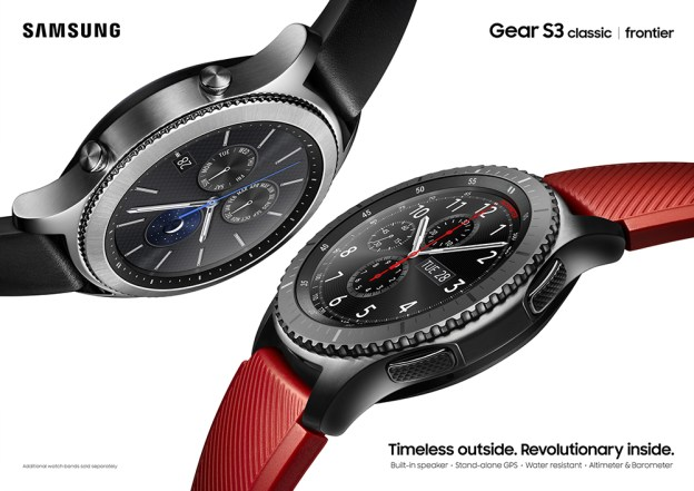 Samsung Gear S3 Arrives in Malaysia