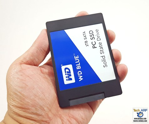 The 1TB WD Blue SSD (WDS100T1B0A) Review