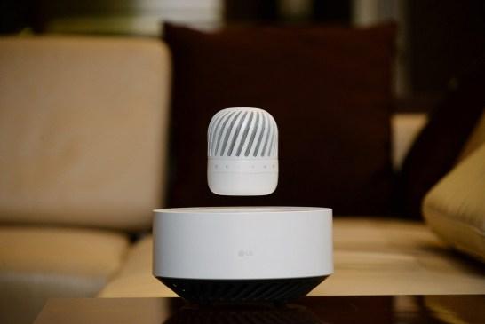 LG Levitating Portable PJ9 Speaker Released