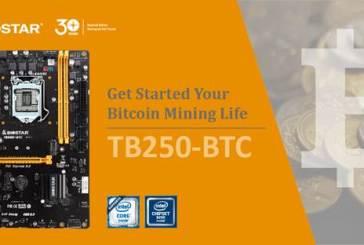 BIOSTAR TB250-BTC Mining Motherboard Announced