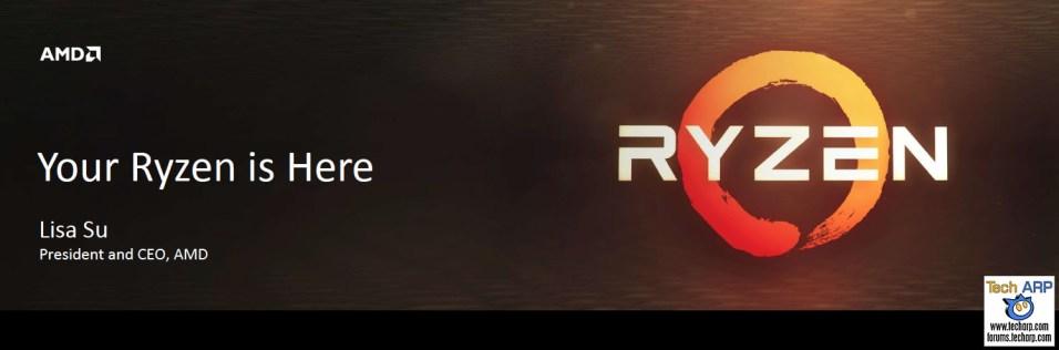 AMD Ryzen Is Here - Introducing The AMD Ryzen 7 CPUs!AMD Ryzen Is Here - Introducing The AMD Ryzen 7 CPUs!