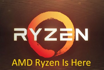 AMD Ryzen Is Here – Introducing The AMD Ryzen 7 CPUs!