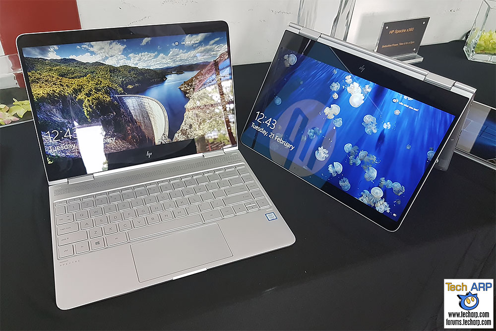 The HP Spectre x360 (2017) 2-in-1 Laptop First Look