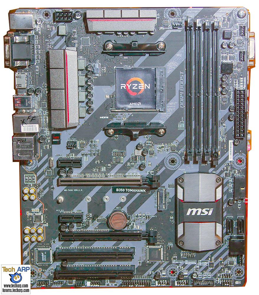 MSI Ryzen 7 Motherboard