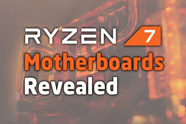 The 34 New AMD Ryzen 7 Motherboards Revealed