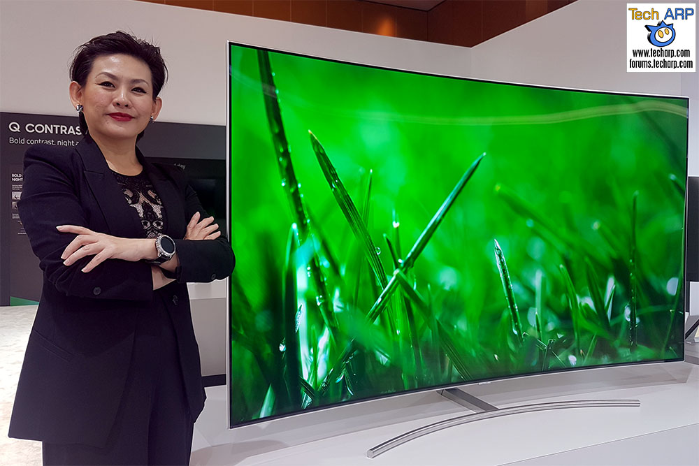 The Samsung 88Q9F QLED TV