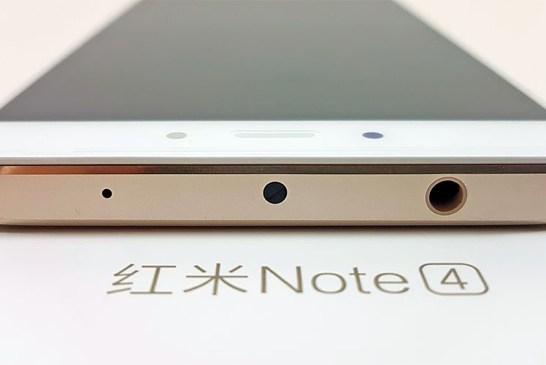 The Xiaomi Redmi Note 4 (Helio X20 Model) top