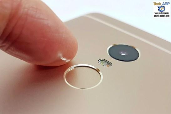 The Xiaomi Redmi Note 4 (Helio X20 Model) fingerprint sensor