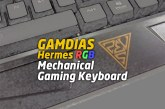 The GAMDIAS Hermes RGB Mechanical Gaming Keyboard Review