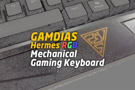 The GAMDIAS Hermes RGB Mechanical Gaming Keyboard Review