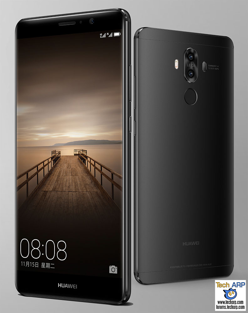 The Huawei Mate 9 BLACK Limited Edition Is Here!
