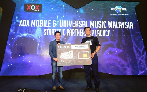 XOX MOBILE & Universal Music Malaysia Launches ONEMUSIC