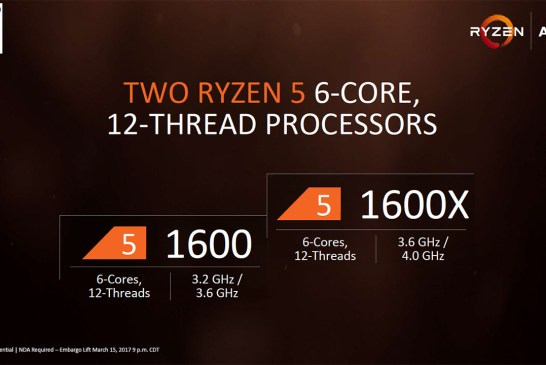 The AMD Ryzen 5 Processor Tech Report
