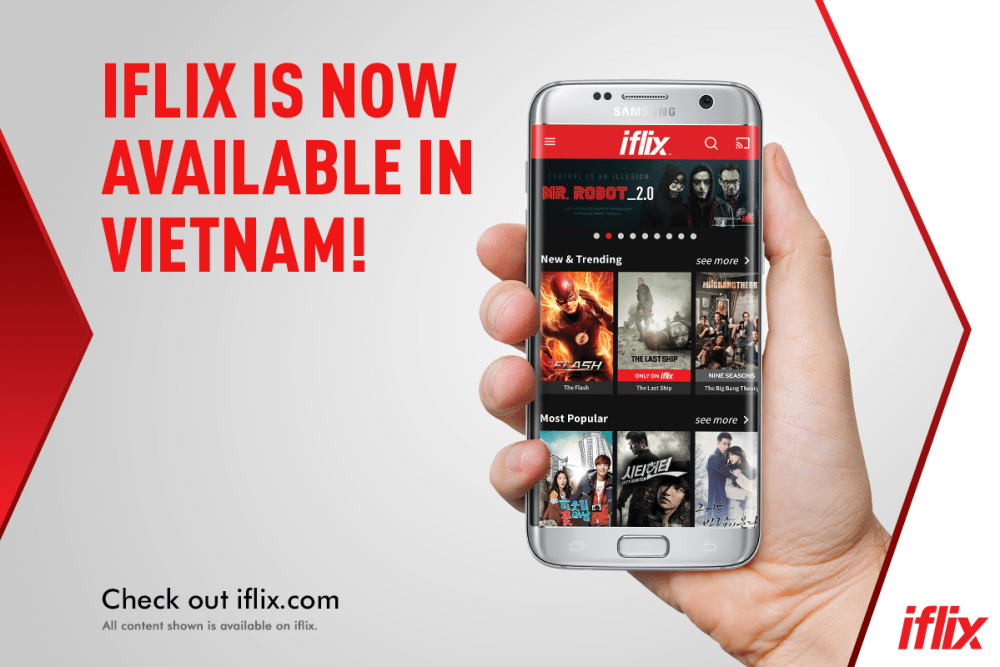 IFLIX Now Available In Vietnam