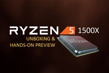 The AMD Ryzen 5 1500X Processor Unboxing & Preview