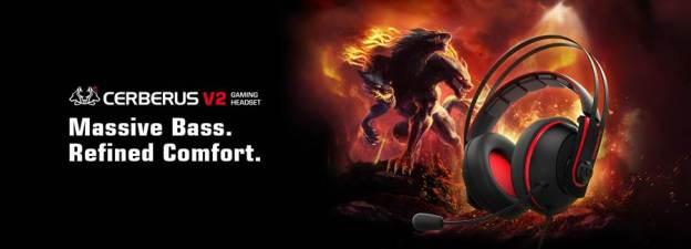 ASUS Cerberus V2 Gaming Headset Announced!