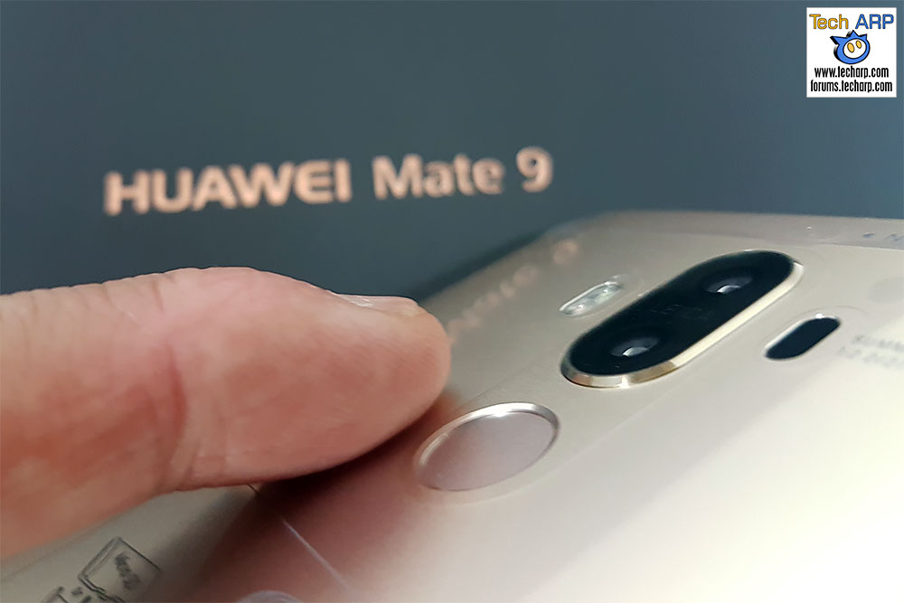 Huawei Mate 9 fingerprint sensor