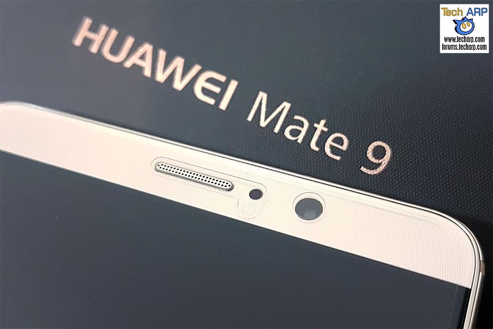 Huawei Mate 9 front camera