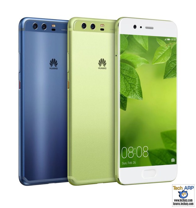 Greenery and Dazzling Blue Huawei P10 to arrive on May 5!