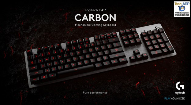 The Logitech G413 Mechanical Gaming Keyboard Launched