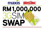 Upgrade To A Maxis 4G SIM Card & Win RM 1 Million!