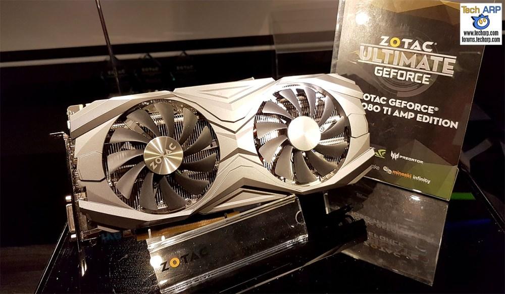 The ZOTAC GeForce GTX 1080 Ti AMP Cards Revealed!