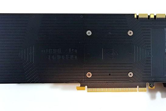 NVIDIA GeForce GTX 1080 Ti back