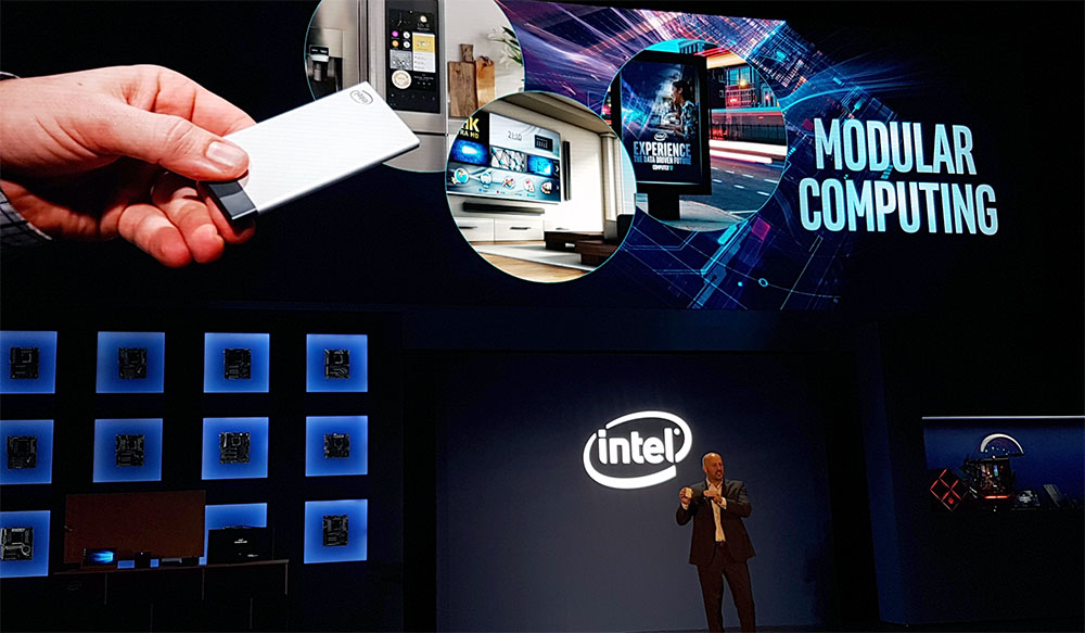 The Intel Compute Card, X-Series & Core i9 CPUs @ Computex 2017