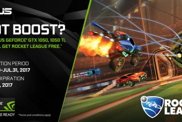 FREE Rocket League with ASUS GeForce GTX 1060 or 1050!