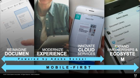 Adobe Document Cloud Introduces New Mobile Capabilities