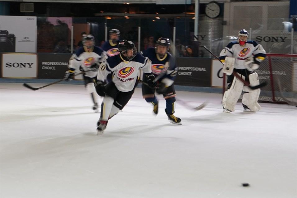 Sony Alpha 9 (α9) ice hockey sample