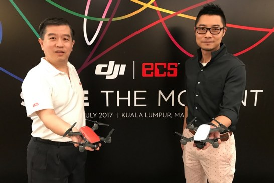 The DJI Spark Pocket Camera Drone Launched