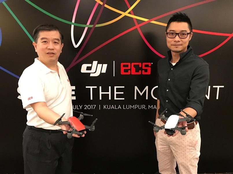 DJI Spark Camera Launched In Kuala Lumpur