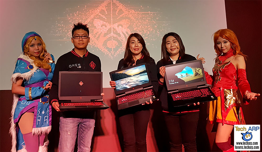 The HP OMEN Gaming Laptop & Desktop PCs Revealed!