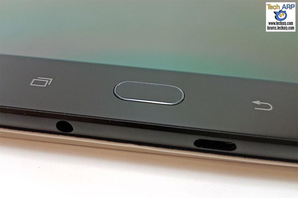 Samsung Galaxy Tab S3 S fingerprint sensor