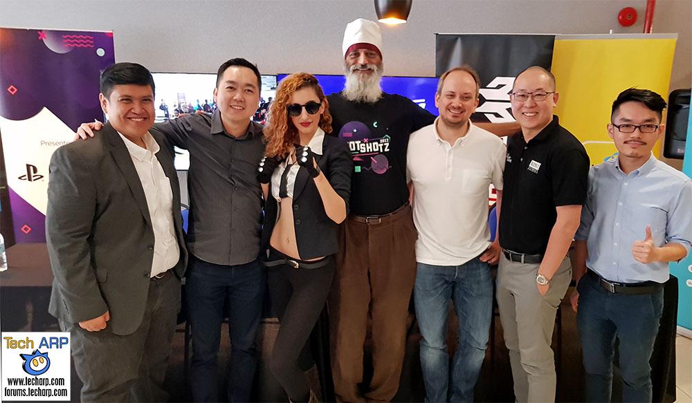 The HotShotz 2017 eGames Festival Press Conference