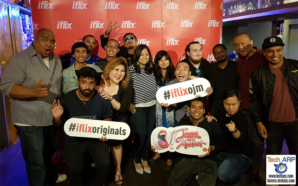 Introducing The First iflix Original Series - Oi! Jaga Mulut