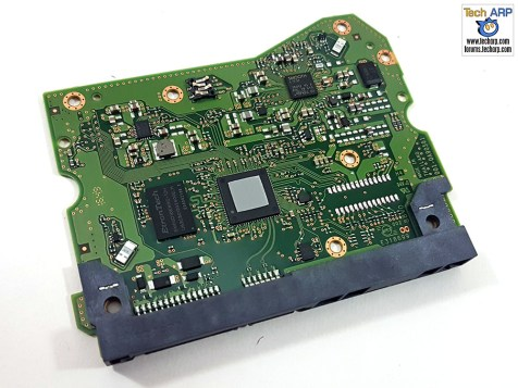 The 10TB WD Red PCB