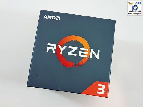 The AMD Ryzen 3 1300X box