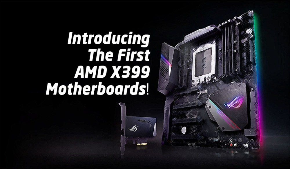 Introducing The First AMD X399 Motherboards!