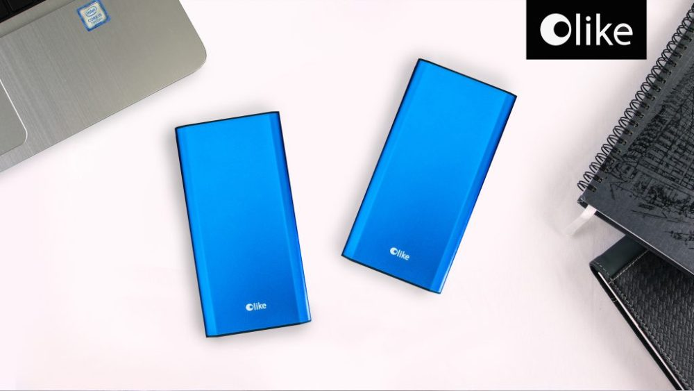 Royal Blue Olike Powerbank